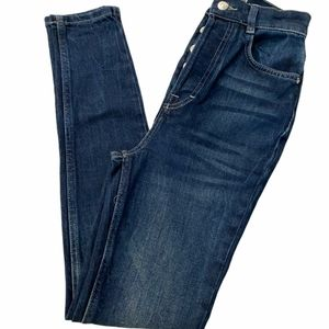 We The Free Button Fly Skinny Jeans 26